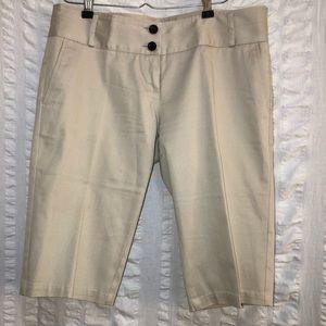 Burberry Brit Khaki Bermuda Shorts